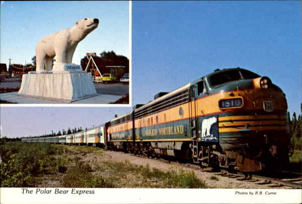 The Polar Bear Express Ontario Canada