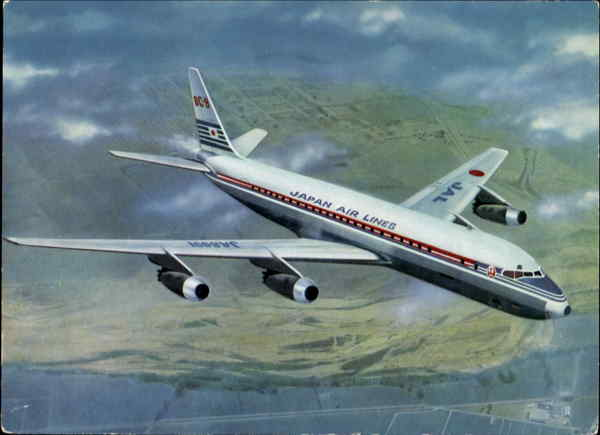 Japan Air Lines DC-8 Aircraft