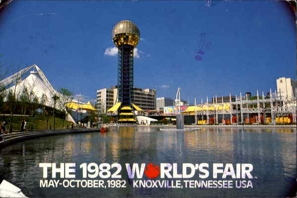 The 1982 World's Fair Knoxville Tennessee