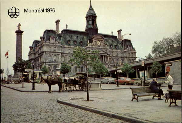 Montreal Town Hall Canada Quebec