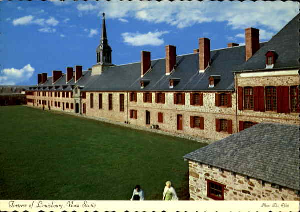 Fortress Of Louisbourg, National Historic Park Canada