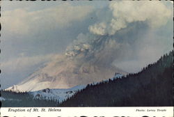 Eruption Of Mt. St. Helens