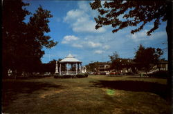 The Milford Bandstand On The Green, Broad Street