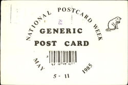 National Post Card Week Generic Post Card