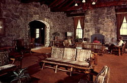 Mather Lodge Petit Jean State Park Postcard