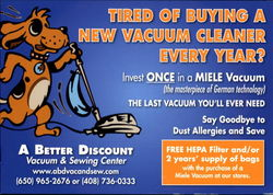 A Better Discount Vacuum & Sewing Center