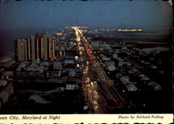 Ocean City Maryland At Night