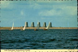 Lake Diefenbaker Postcard