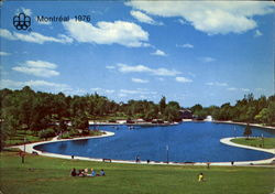 Beaver Lake, Mount Royal Park Postcard