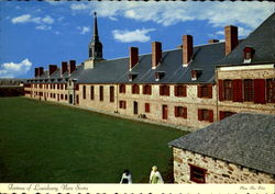 Fortress Of Louisbourg, National Historic Park Postcard