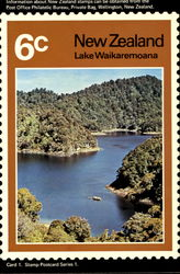 New Zealand Lake Waikaremoana