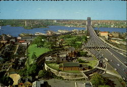 Southern approach To Sydney Harbour Bridge Postcard