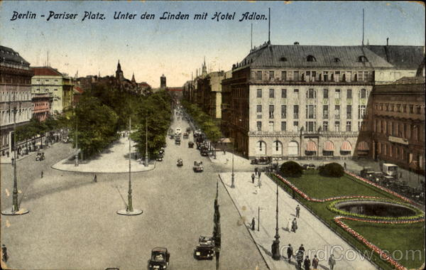 German Postcard Germany