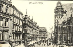 Stephansplatz Postcard