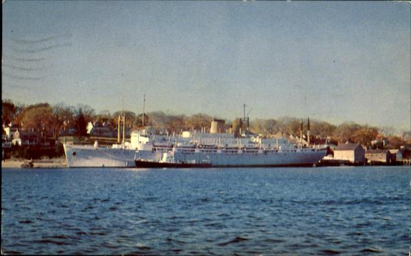 The State Of Maine Training Ship Boats, Ships