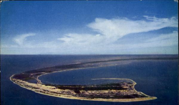 Air View Tip Of Cape Cod Massachusetts