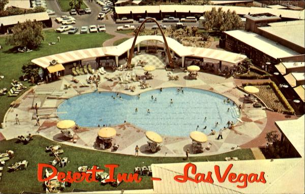 Desert Inn Pool Las Vegas Nevada