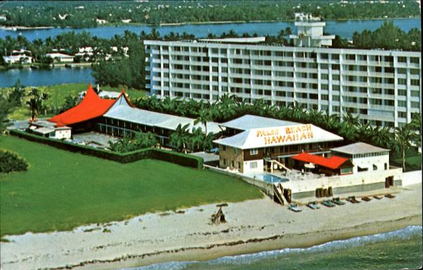 The Palm Beach Hawaiian Motor Lodge, 3550 S. Ocean Blvd. A I A Florida
