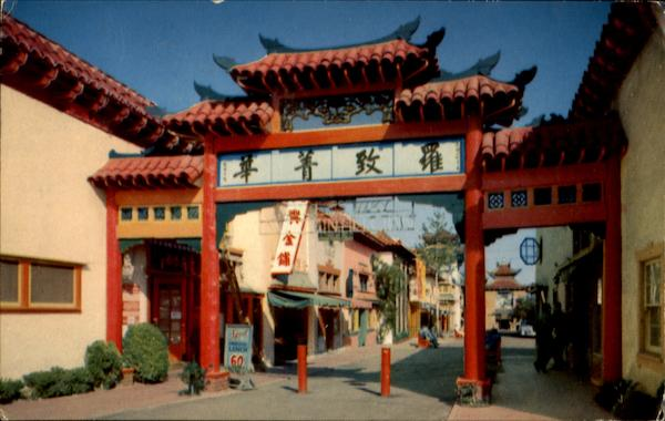 Enchanting Chinese Settlement Los Angeles California