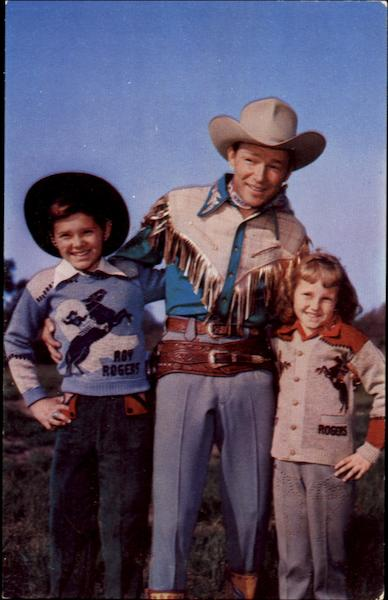 Pauker's Official Roy Rogers Sweaters Advertising