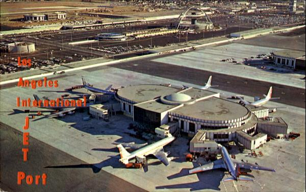 Los Angeles International Jet Port California