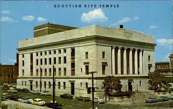 Scottish Rite Temple, Sixth Avenue And Park Street Des Moines Iowa