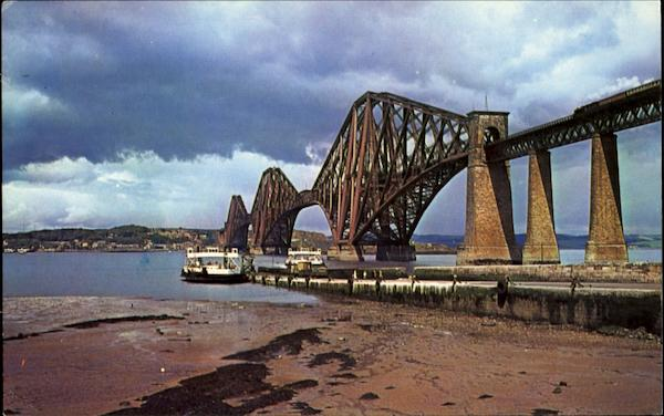 Forth Bridge North Queensferry Scotland