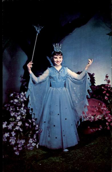 The Blue Fairy Rufus Rose Marionettes Advertising