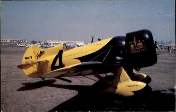 Bill Turner's Outstanding Replica Of The Gee Bee Aircraft