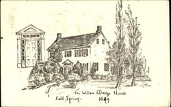 The William Eldredge House Cold Spring