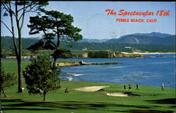 Spectacular 18Th At Pebble Beach