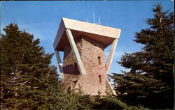 The New Tower On Mount Mitchell