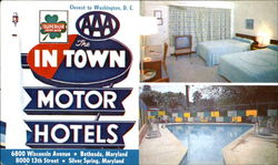 The In Town Motor Hotels, 6800 Wisconsin Ave On U. S. #240