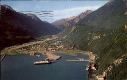 Air View Of Skagway