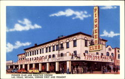 Pioneer Club And Cocktail Lounge Postcard