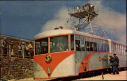 Observation Car And Tower Top Of Pikes Peak