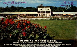 Colonial Manor Motel, Route 355