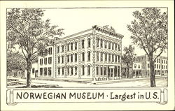 Norwegian Museum Postcard