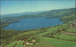 Aerial View Of Caspian Lake And Country Club