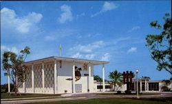 Chapel & Main Entrance Our Lady Of Florida Postcard