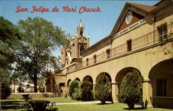 San Felipe De Neri Church, Old Town Plaza