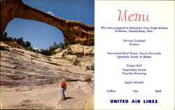United Menu Natural Bridges National Monument Park