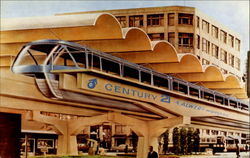 The Monorail For The Seattle World's Fair