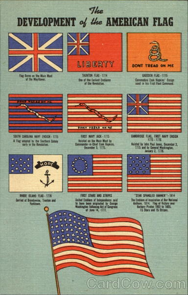The Development Of The American Flag, Fort Ticonderoga Museum New York