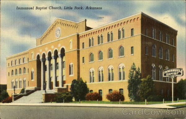 Immanuel Baptist Church Little Rock Arkansas