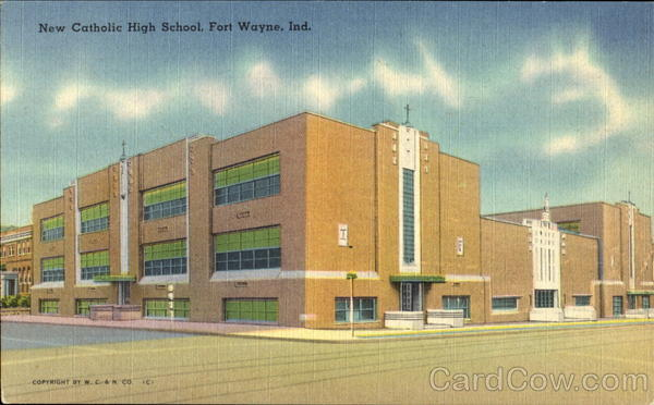 New Catholic High School Fort Wayne Indiana