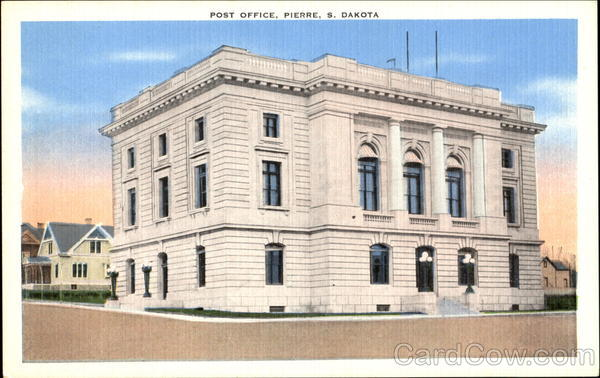 Post Office Pierre South Dakota