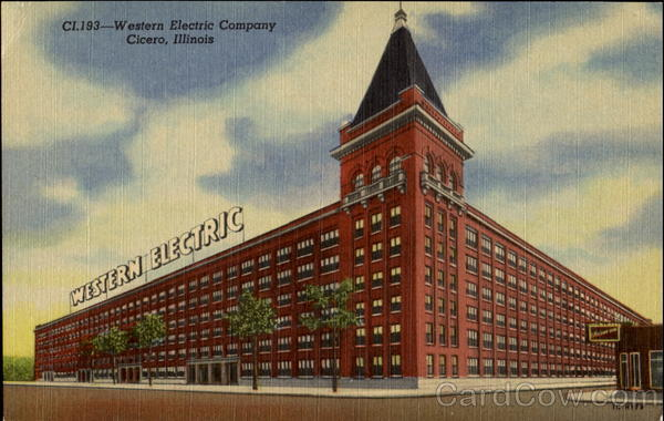 Western Electric Company Cicero Illinois