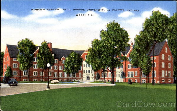 Women's Resident Hall, Purdue University Lafayette Indiana