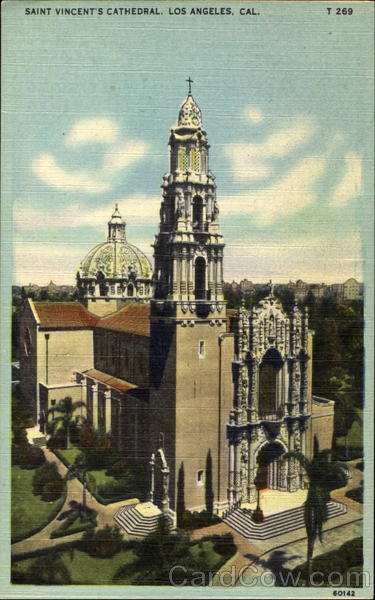 Saint Vincent's Cathedral Los Angeles California